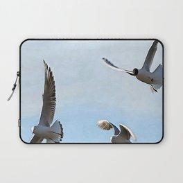 Three Black Headed Gulls Of The Bosphorus Art Laptop Sleeve