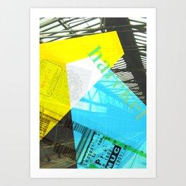 Story of the Roads - 2 Art Print