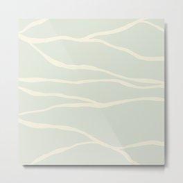 Flow_bath time Metal Print
