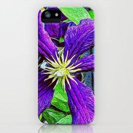 Purple Furple iPhone Case