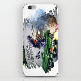 Alien's Vette iPhone Skin