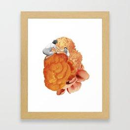 CRESTING BLOOM Framed Art Print