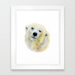 Polar Beary Framed Art Print