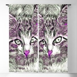 NewArt Animal C Kitten Blackout Curtain