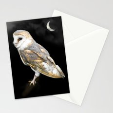 The Owl and the Moon Stationery Cards