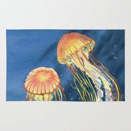 Dancing of Jellyfish Rug