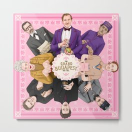 The Grand Budapest Hotel Metal Print