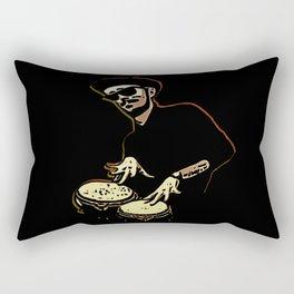 Bongo Beatin' Beatnik Rectangular Pillow