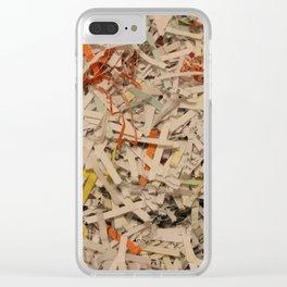 Shredded Self Clear iPhone Case