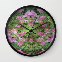 Columbine Operatic Wall Clock