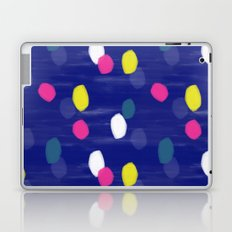 Spotty Blue Laptop & iPad Skin