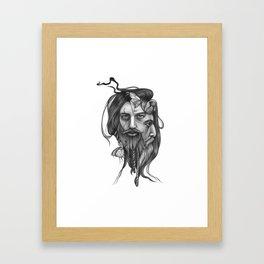 Double Face Framed Art Print