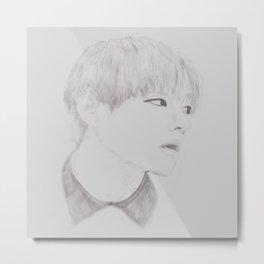 Taehyung 2 Metal Print