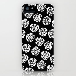 Roses pattern II iPhone Case