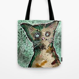 Turtle the turtle shell zombie kitten Tote Bag