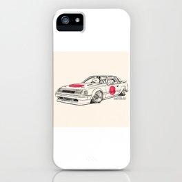 Crazy Car Art 0164 iPhone Case