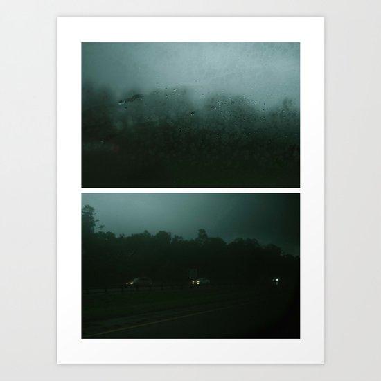 rainy days and mondays Art Print