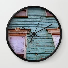 Tall and Rustic Wall Clock