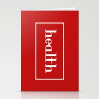health Stationery Cards featuring Health by davzoku
