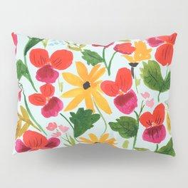 Pansies, Flowers, Happy, Sunshine, Sunflowers Pillow Sham
