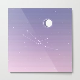 Taurus Constellation Metal Print