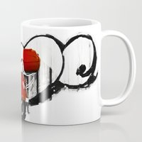 vespa Mugs featuring Vespa by absoluca