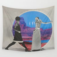 mod Wall Tapestries featuring Mod(ifications) by Imogen Art