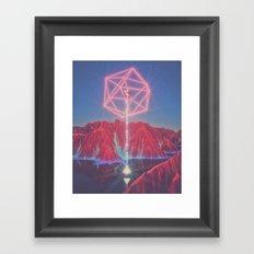Teleportation Framed Art Print