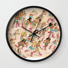 Wonder Women! Wall Clock