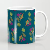 vegetable Mugs featuring Vegetable Medley by Veronica Galbraith