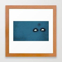 Dr. Manhattan  Framed Art Print