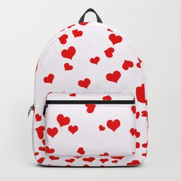 Falling Hearts Backpack