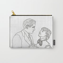 Roman Holiday Audrey Hepburn & Gregory Peck Carry-All Pouch