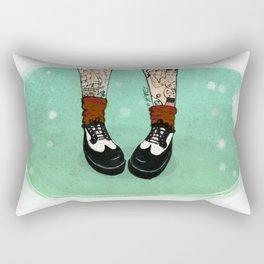 Winter Rock Rectangular Pillow
