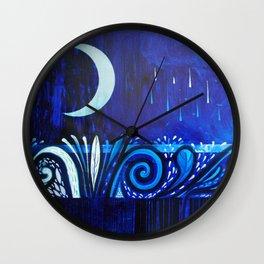 Between two waters Wall Clock