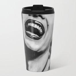 Marilyn Black And White Monroe Travel Mug
