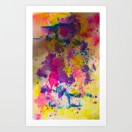 Water Color Fanatic Art Print
