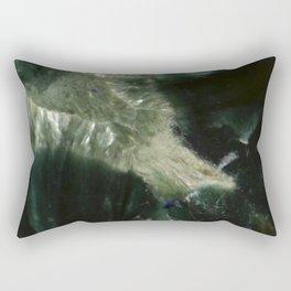 Green Marble Rectangular Pillow