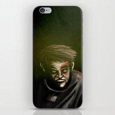 I will not give up, ever. iPhone & iPod Skin
