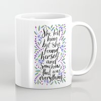 1989 Mugs featuring Hidden Message 1989 by IndigoEleven