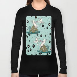 tortoise and the hare skater style Long Sleeve T-shirt
