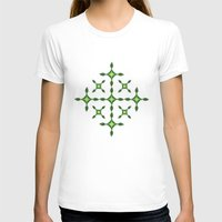 batik T-shirts featuring BATIK MODERN  by radea