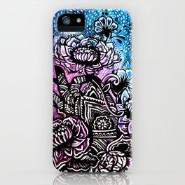 Henna Lotus Hand iPhone Case