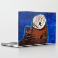 otter Laptop & iPad Skins featuring Otter by Cre8tive Papier