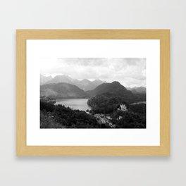 Mountains Magic Land Framed Art Print