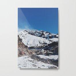 Andes Cumbre Metal Print