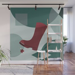The Boot Wall Mural
