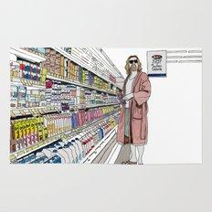 Jeffrey Lebowski and Milk. Rug