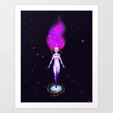Universe God Art Print