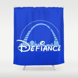 The most defiant place on New Earth Shower Curtain
